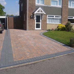 New block Paving Drive Sutton-In-Ashfield: Click Here To View Larger Image