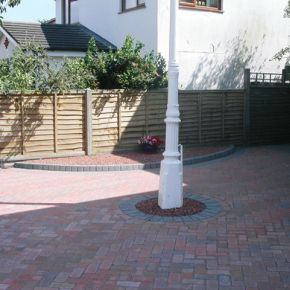 New Block Paving Driveway Chesterfield: Click Here To View Larger Image